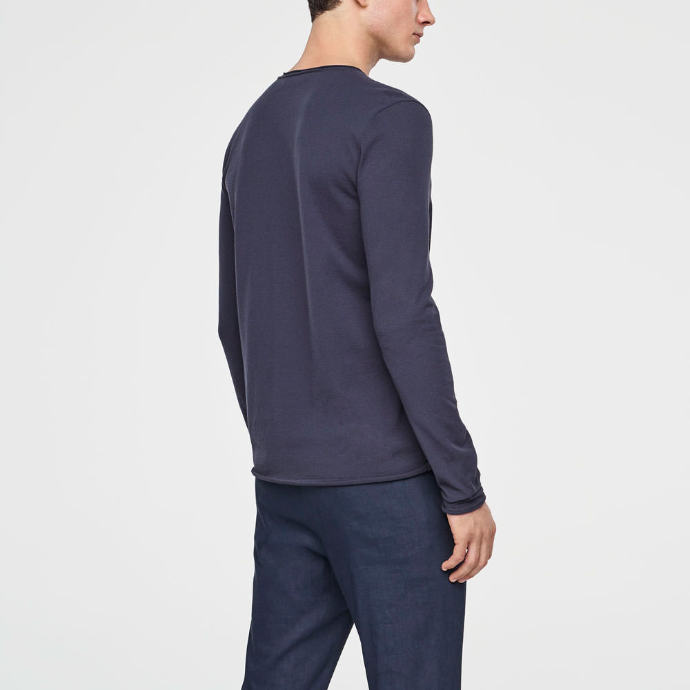 Sarah Pacini COTTON SWEATER Back view
