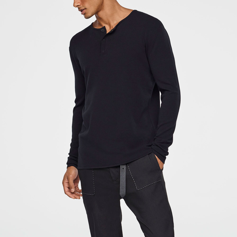 Sarah Pacini LIGHT SPRING HENLEY Mixed