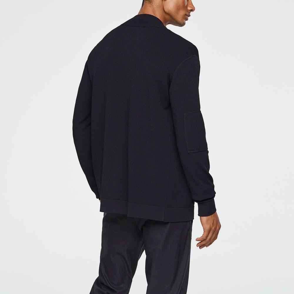 Sarah Pacini LIGHT CARDIGAN - SLEEVE POCKET Back view