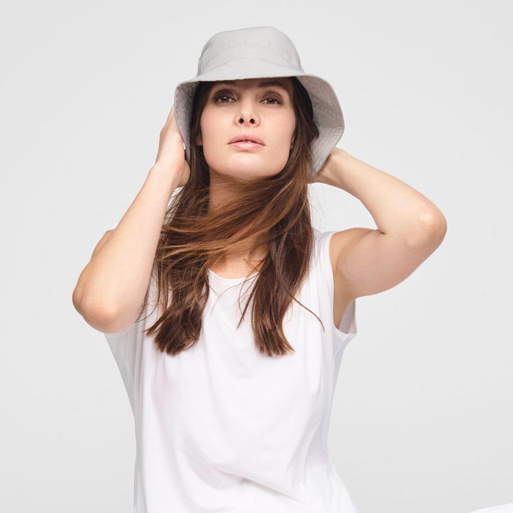 Sarah Pacini STRETCH LINNEN VISSERSHOED Voorzijde