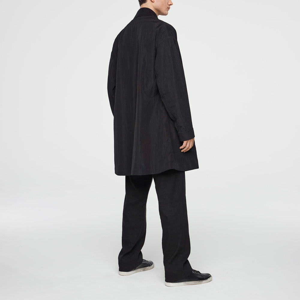 Sarah Pacini SPRING COAT Back view