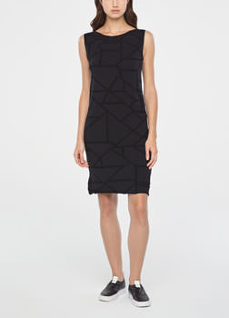 Sarah Pacini GRAPHIC DRESS Front