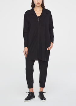 Sarah Pacini STREET-STYLE JACKET IN JERSEY Front