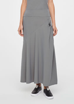 Sarah Pacini SUMMER SKIRT - GATHERED POCKET Front