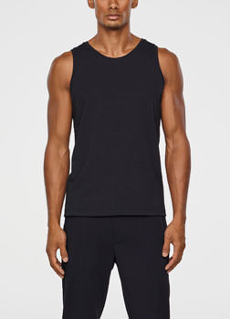 Sarah Pacini STRETCH COTTON TANK TOP Front