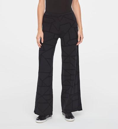 Sarah Pacini GRAPHIC PANTS Front