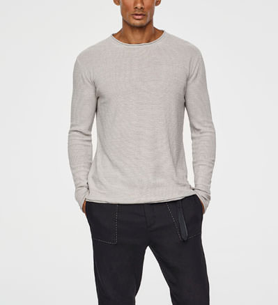 Sarah Pacini LIGHT MERINO SWEATER Front