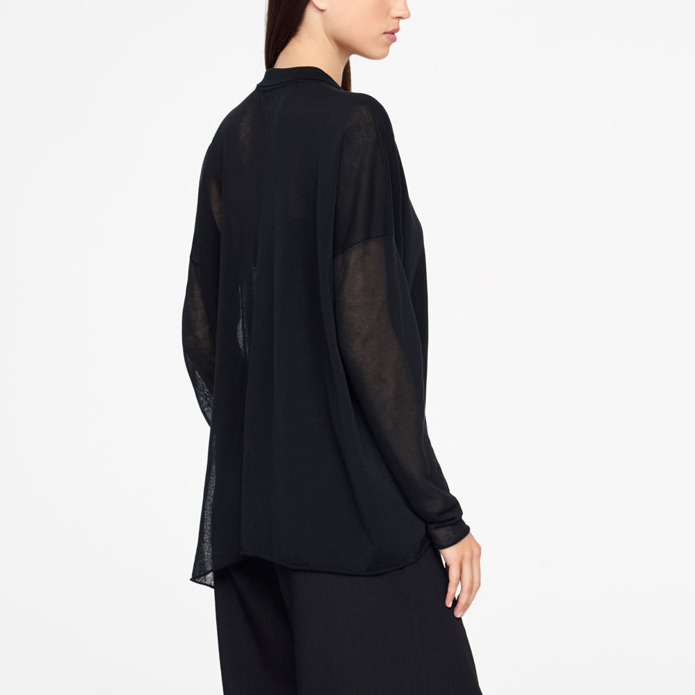 Sarah Pacini COTTON CARDIGAN Back view