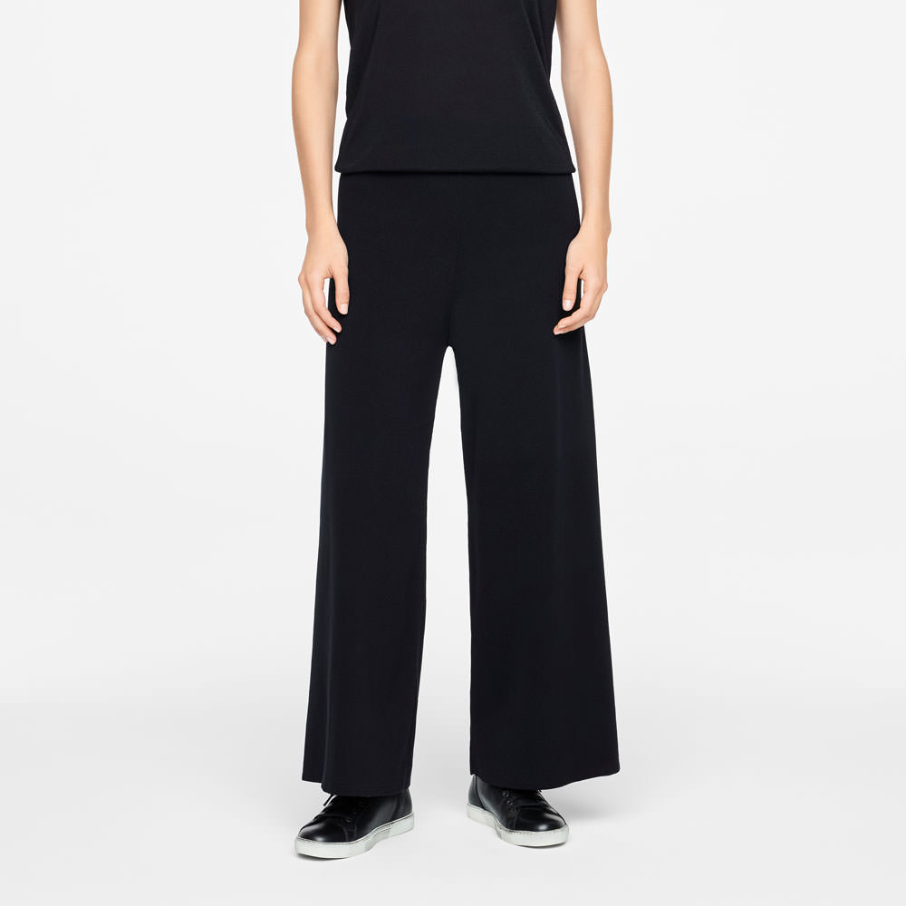 Sarah Pacini SUMMER PANTS - WIDE LEG Front