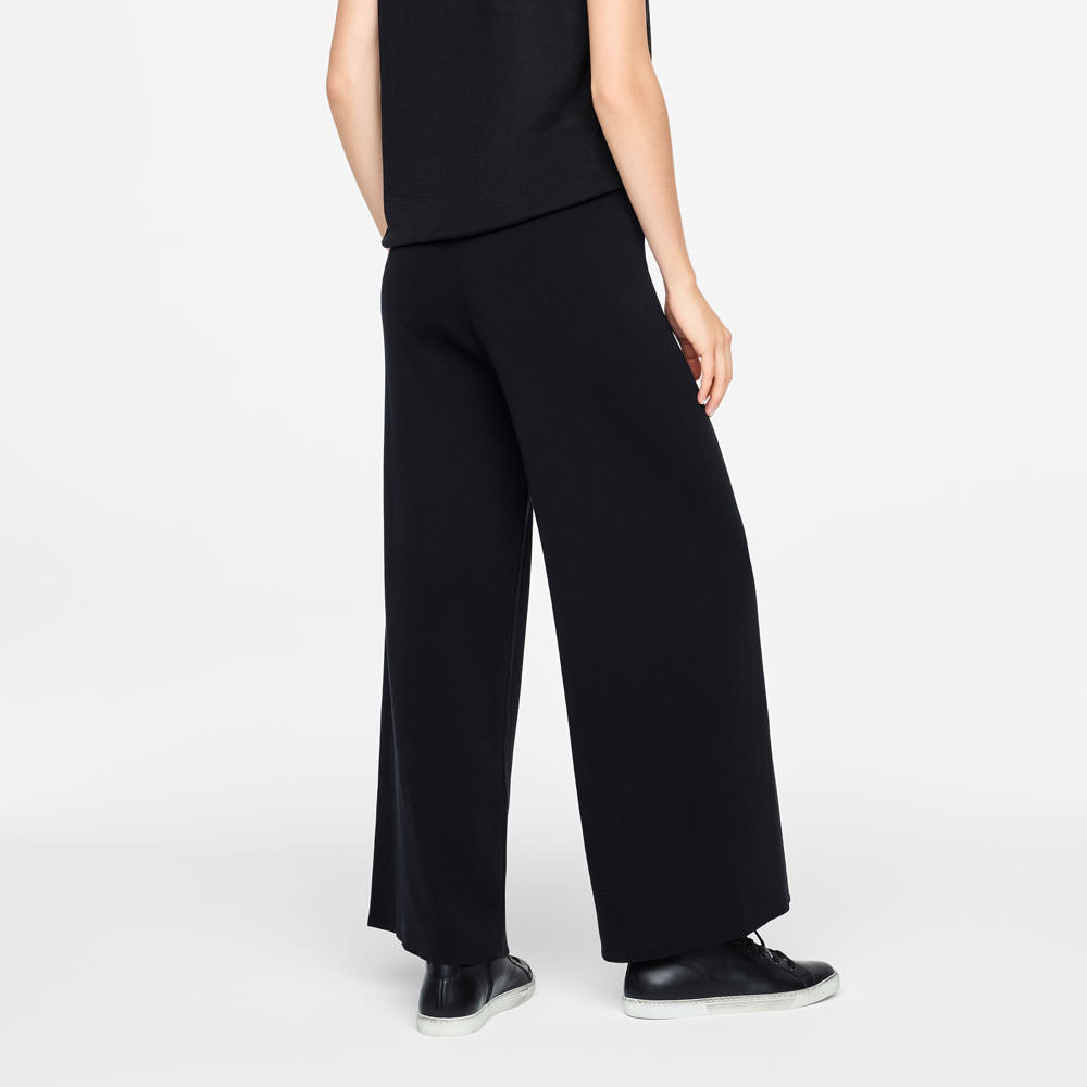 Sarah Pacini SUMMER PANTS - WIDE LEG Back view