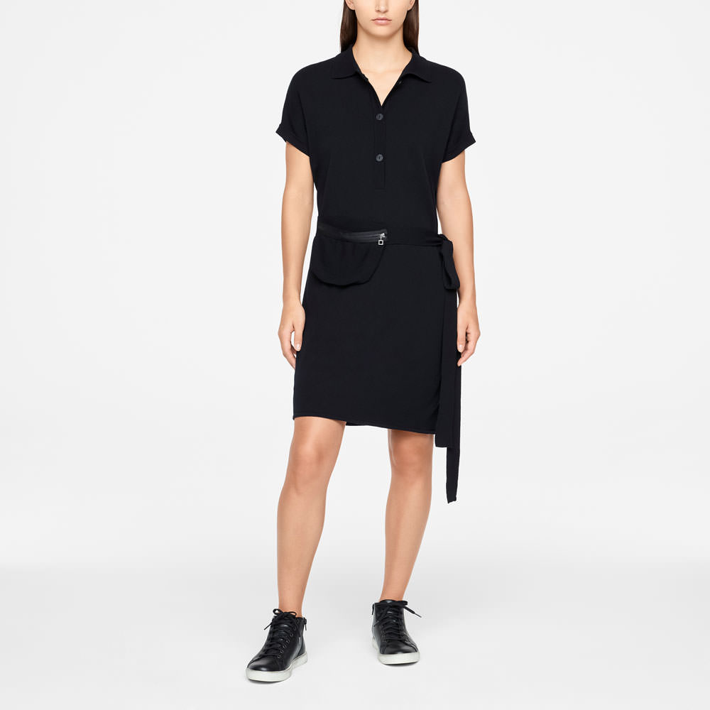 Sarah Pacini DRESS - POLO STYLE Front