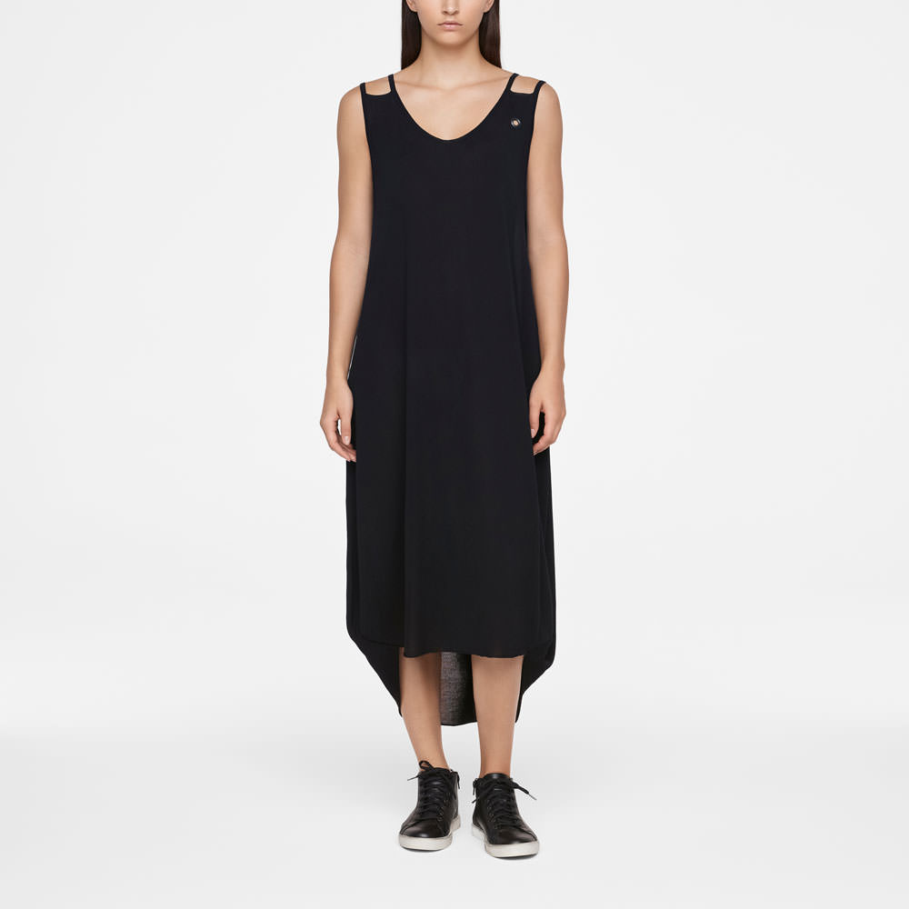 Sarah Pacini MAKO COTTON DRESS - SLEEVELESS Front