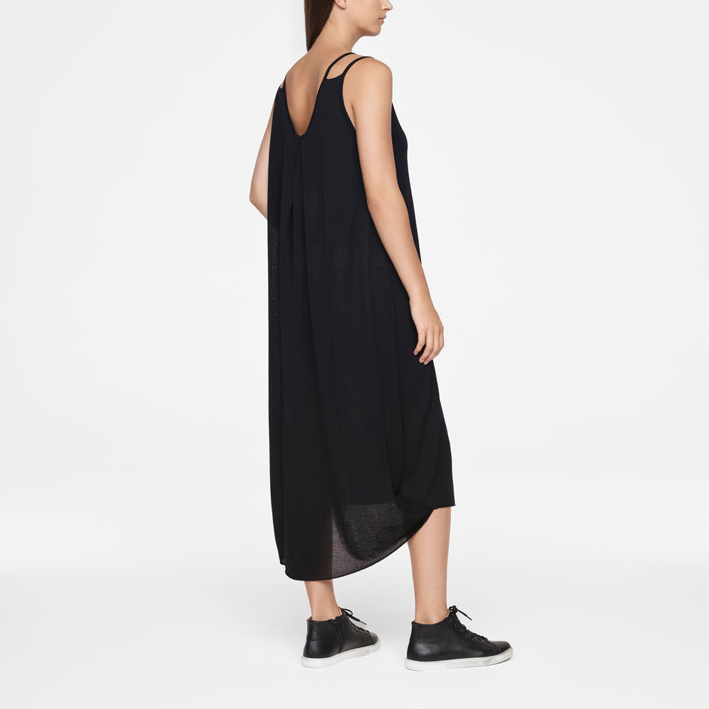 Sarah Pacini MAKO COTTON DRESS - SLEEVELESS Back view