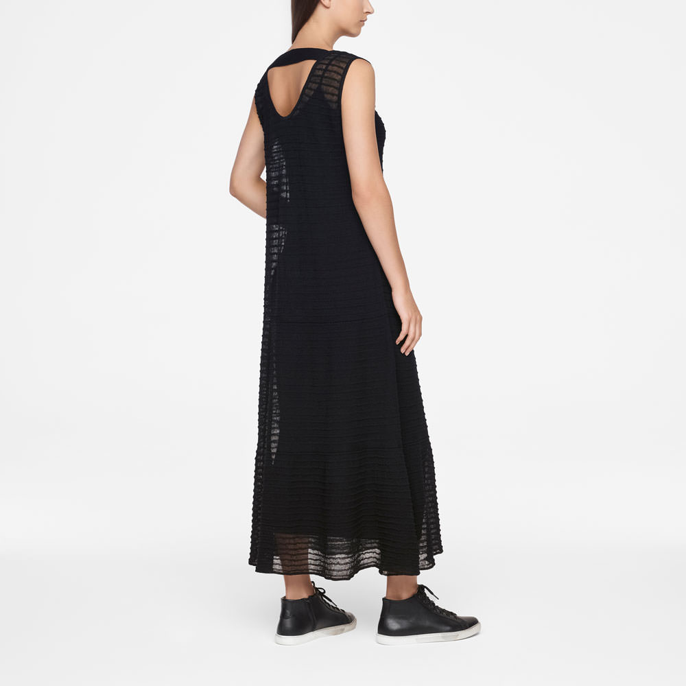 Sarah Pacini MAXI DRESS - A-LINE Back view