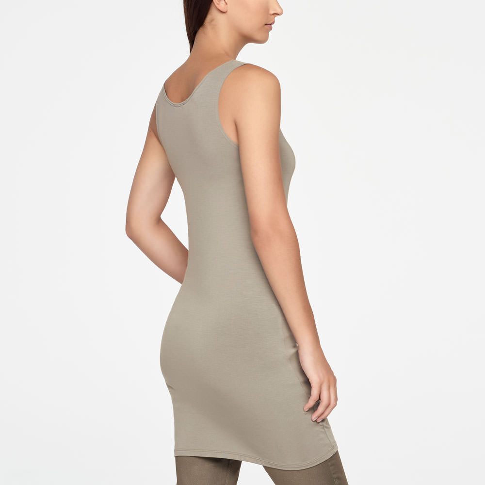 Sarah Pacini SLEEVELESS TUNIC Back view