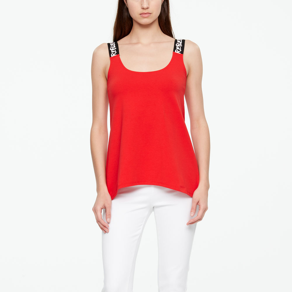 Sarah Pacini T-SHIRT - REFLECTION De face
