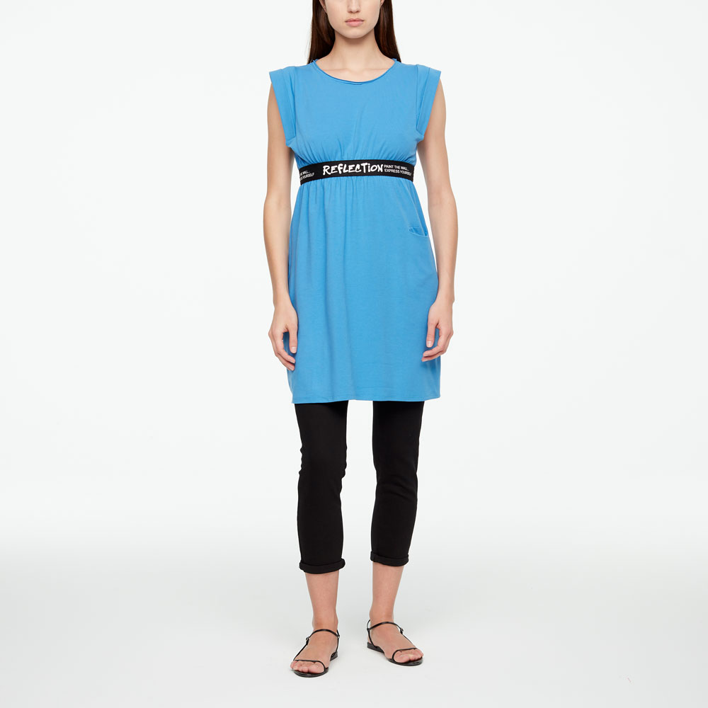 Sarah Pacini ROBE - REFLECTION De face