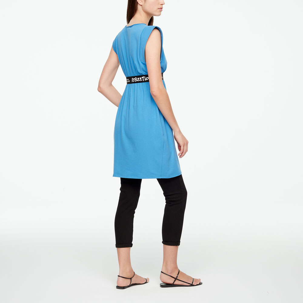 Sarah Pacini DRESS - REFLECTION Back view
