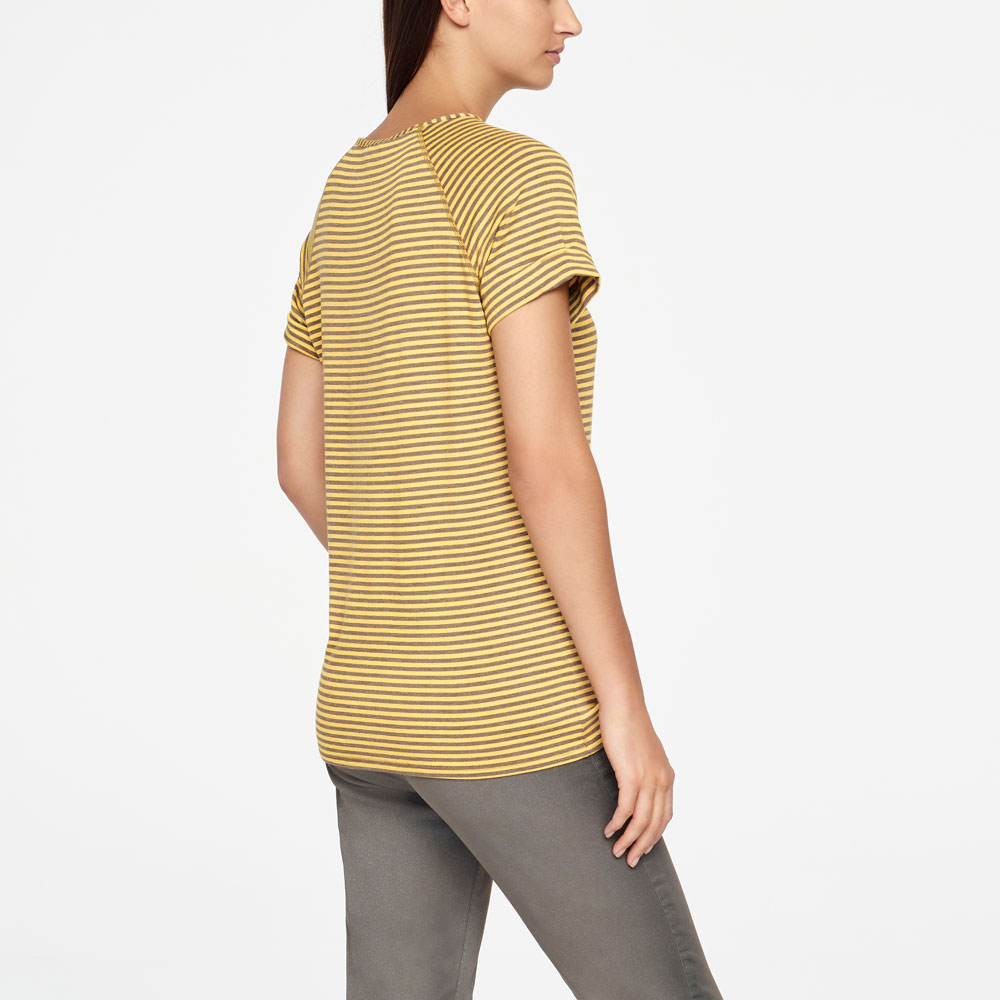 Sarah Pacini T-SHIRT - STRIPES Back view