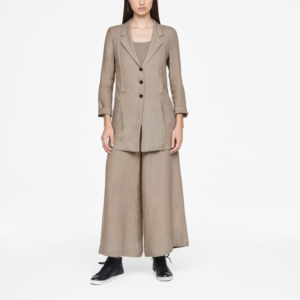 Sarah Pacini LIGHT LINEN JACKET Front