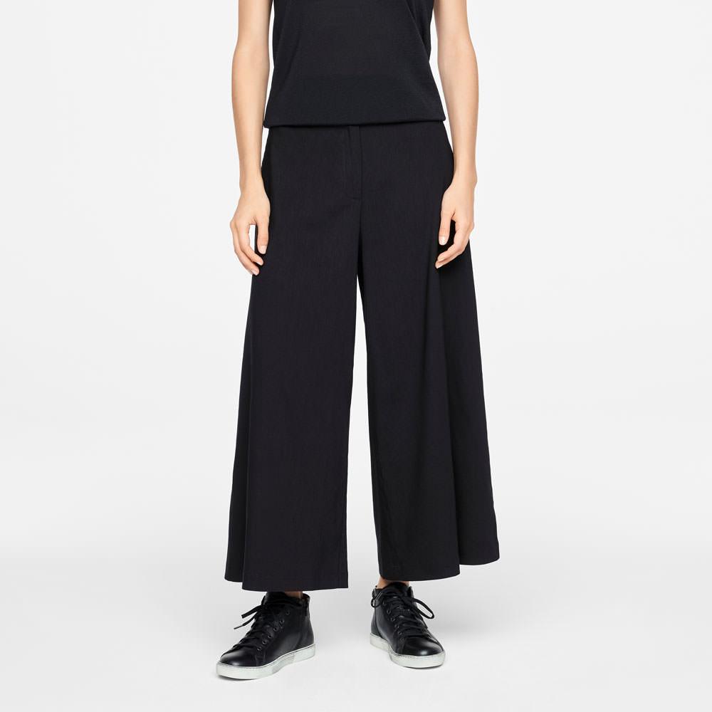 Sarah Pacini LINEN PANTS - WIDE LEG Front