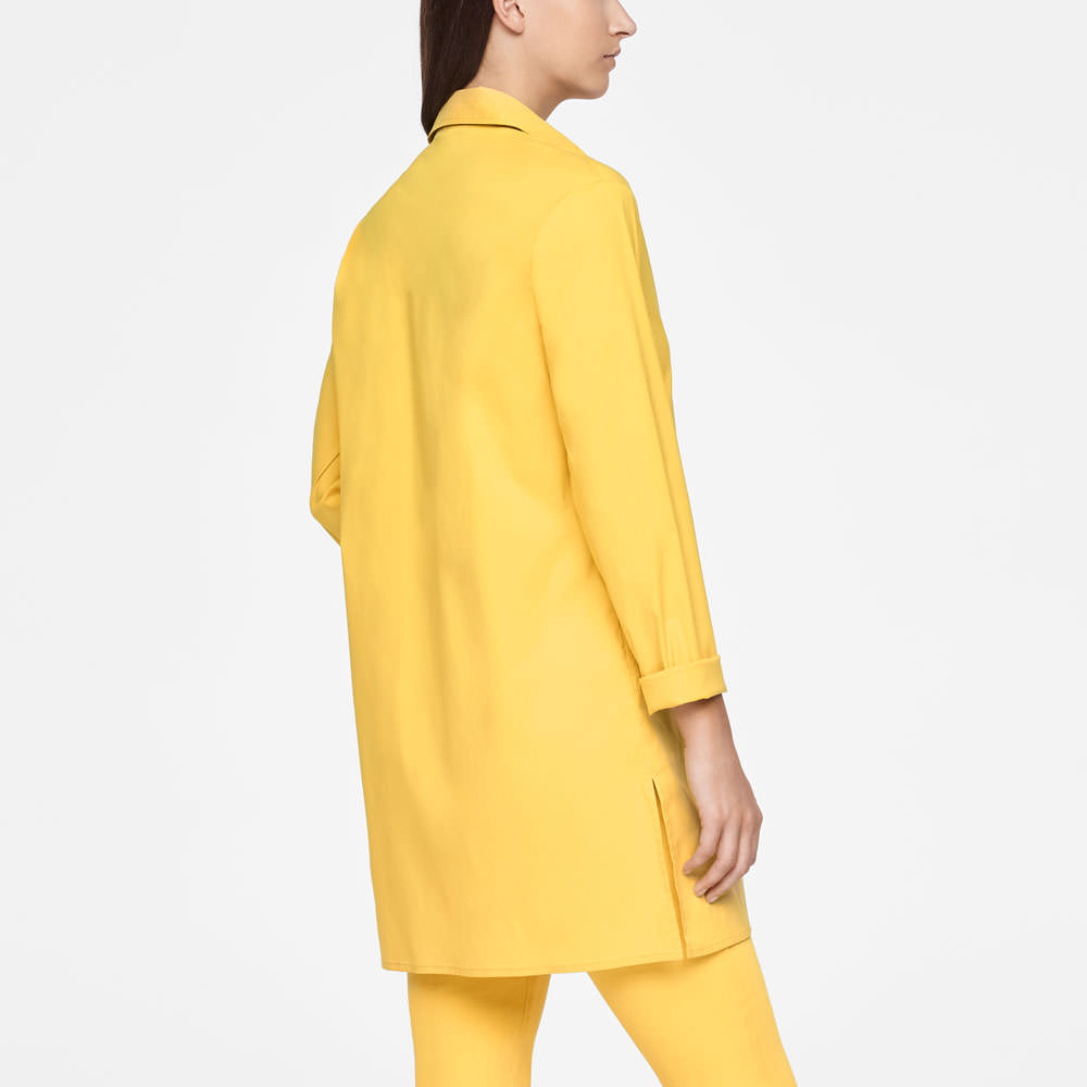 Sarah Pacini LONG SHIRT - SIDE SLITS Back view