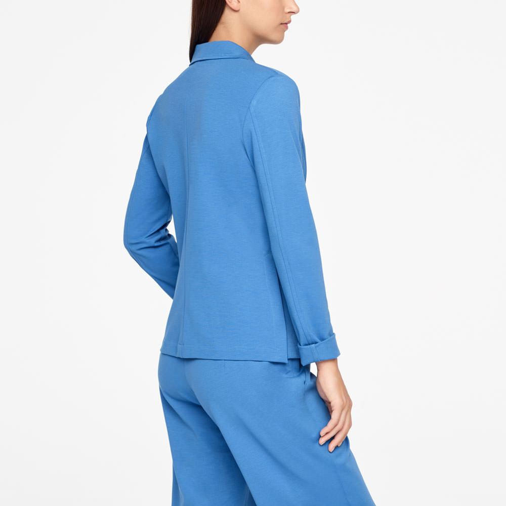 Sarah Pacini JERSEY JACKET Back view
