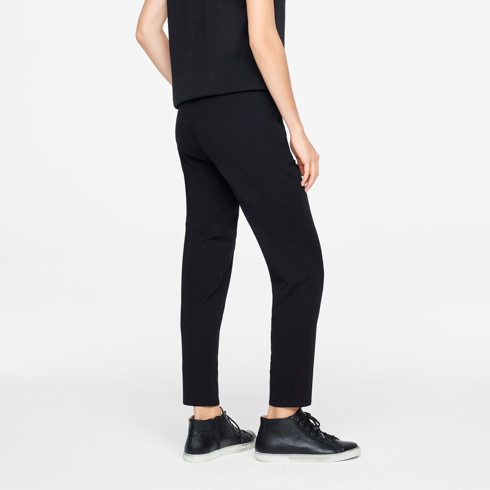 Sarah Pacini JERSEY PANTS - ZIPPER POCKETS Back view