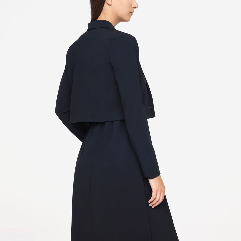 Sarah Pacini JACKET - CROPPED Back view