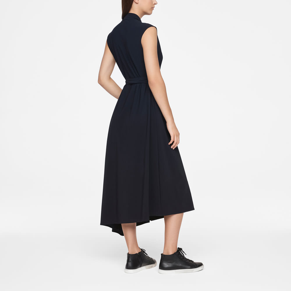 Sarah Pacini URBAN DRESS - WRAP Back view