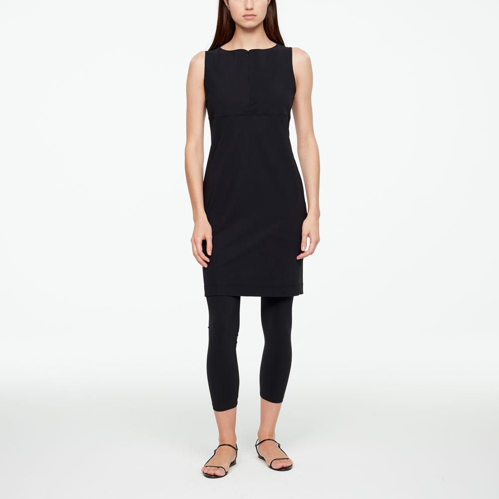 Sarah Pacini STRAIGHT DRESS - TECHNO FABRIC Front