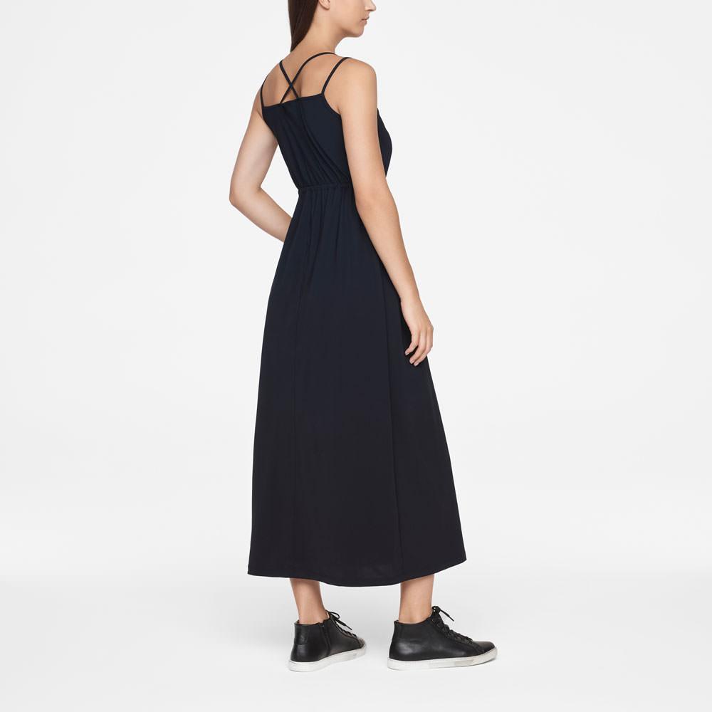Sarah Pacini MAXI DRESS - DRAWSTRING Back view