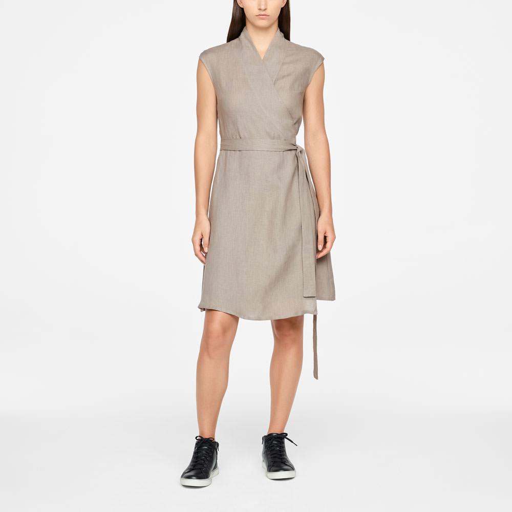 Sarah Pacini WRAP DRESS - KNEE-LENGTH Front