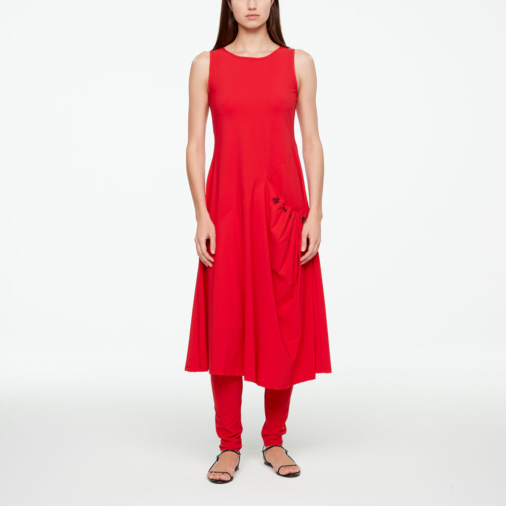 Sarah Pacini MAXI DRESS - TECHNO FABRIC Vorne