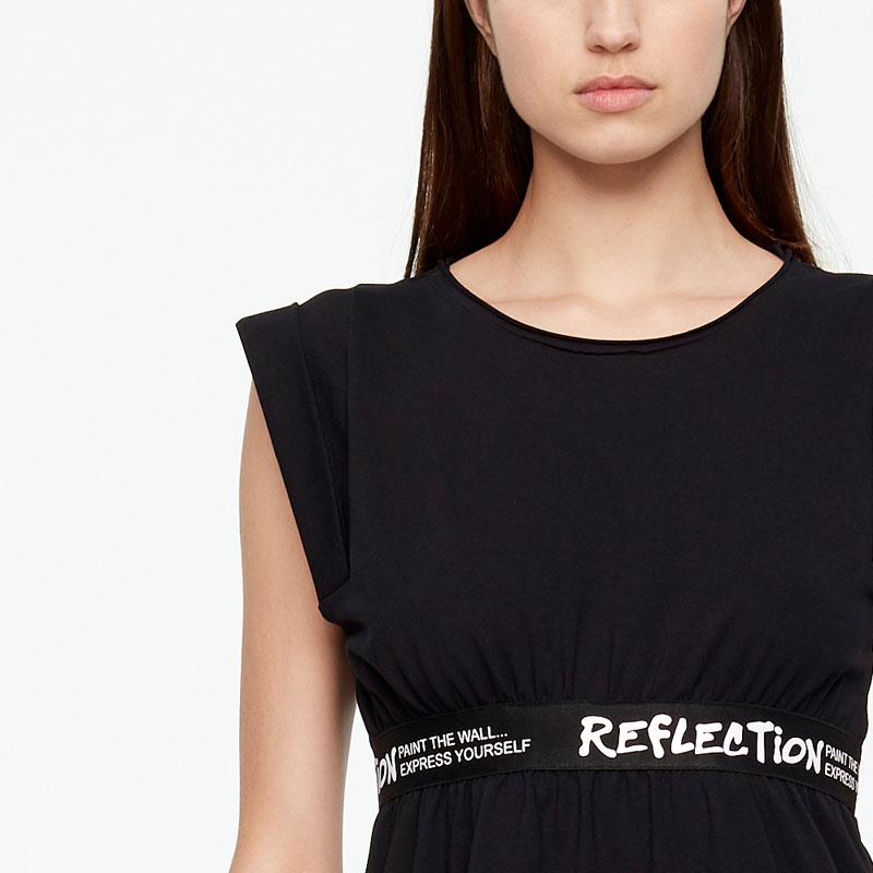 Sarah Pacini ROBE - REFLECTION De face