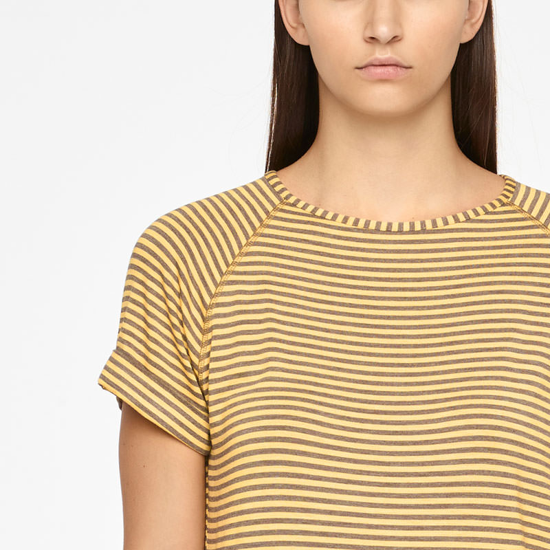 Sarah Pacini T-SHIRT - STRIPES Front