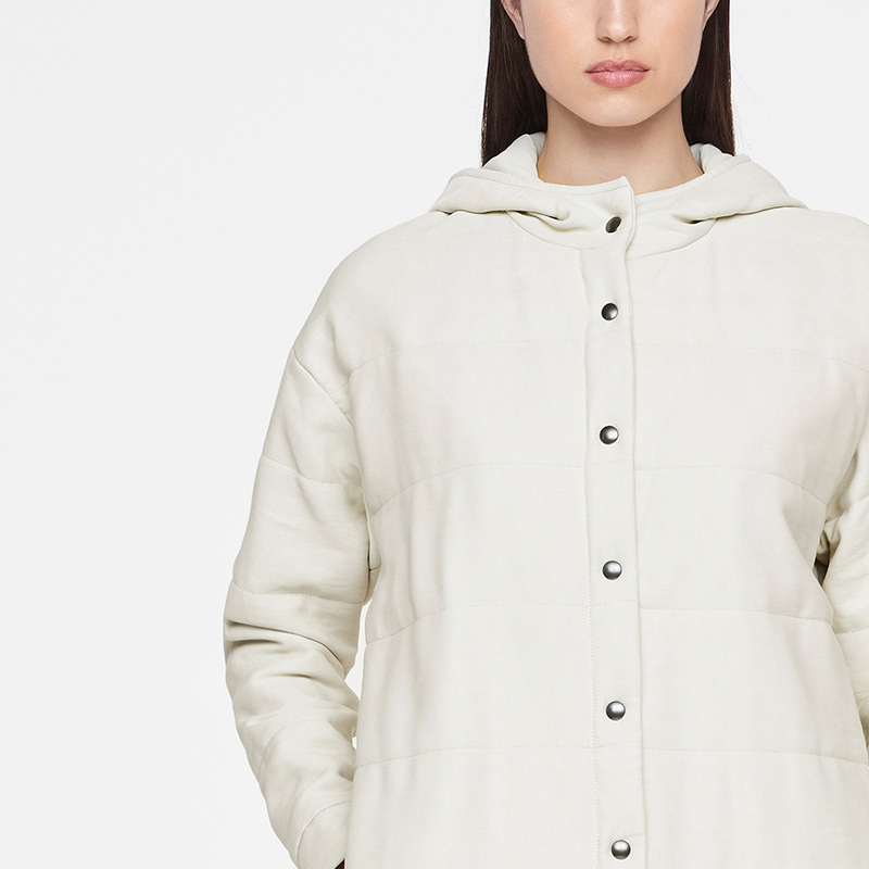 Sarah Pacini MANTEAU LONG De face