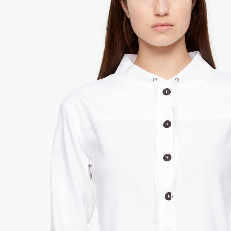 Sarah Pacini LINEN JACKET - CROPPED Front