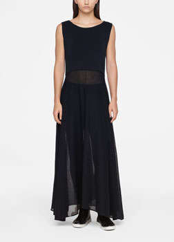 Sarah Pacini COTTON DRESS - MAXI Front