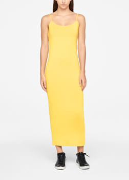 Sarah Pacini MAXI TUNIC - THIN SHOULDER STRAPS Front