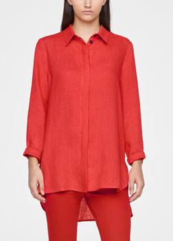 Sarah Pacini LIGHT LINEN SHIRT Front