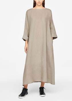 Sarah Pacini LIGHT LINEN DRESS Front