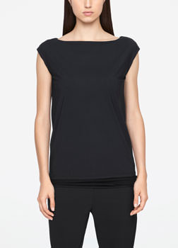 Sarah Pacini REVERSIBLE TOP - SLEEVELESS Front