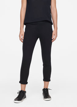 Sarah Pacini YOGA LEGGINGS - CROPPED Front