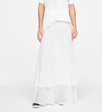 Sarah Pacini COTTON SKIRT - GYPSY STYLE Front