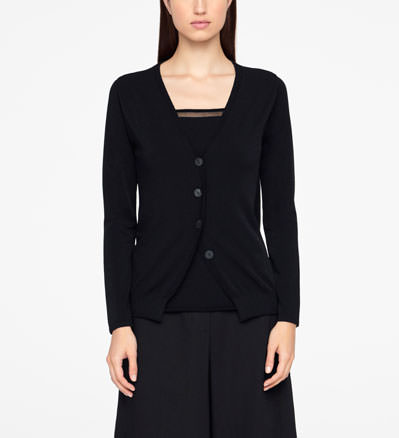 Sarah Pacini URBAN CARDIGAN - FULL SLEEVES Front