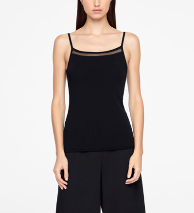 Sarah Pacini SWEATER - SLEEVELESS Front