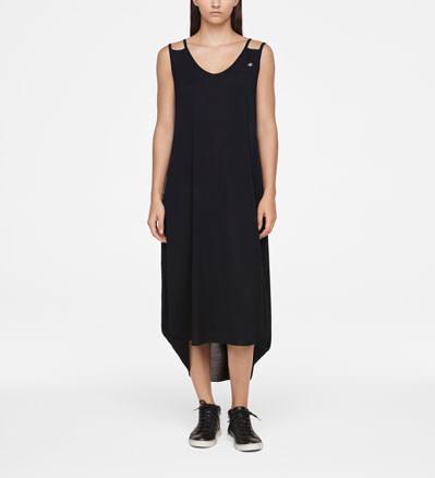 Sarah Pacini MAKO COTTON DRESS - SLEEVELESS Front