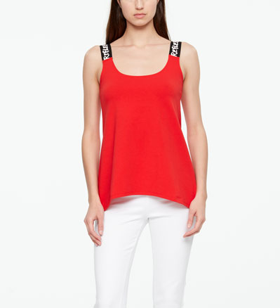 Sarah Pacini TANKTOP - REFLECTION Front