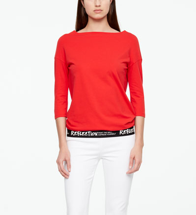 Sarah Pacini TOP - REFLECTION Front